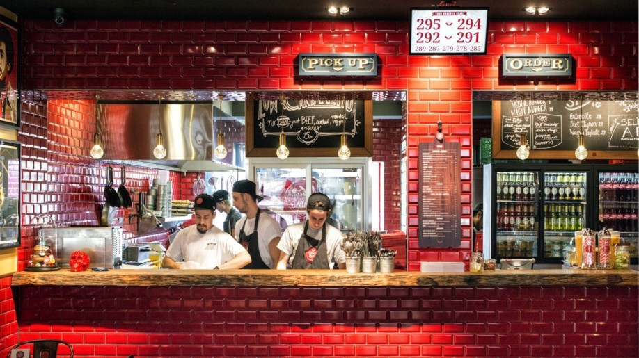 Ökologisch korrekter Gourmet-Burger im What's Beef in Düsseldorf