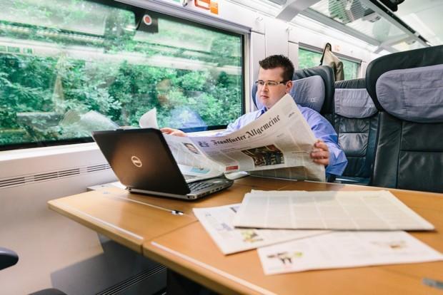 Bernhard Telge, Travelmanager bei Alstom
