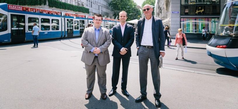 Drei Geschäftsreisende hatten ein Ziel aber unterschiedliche Verkehrsmittel. Ein Erfahrungsbericht.