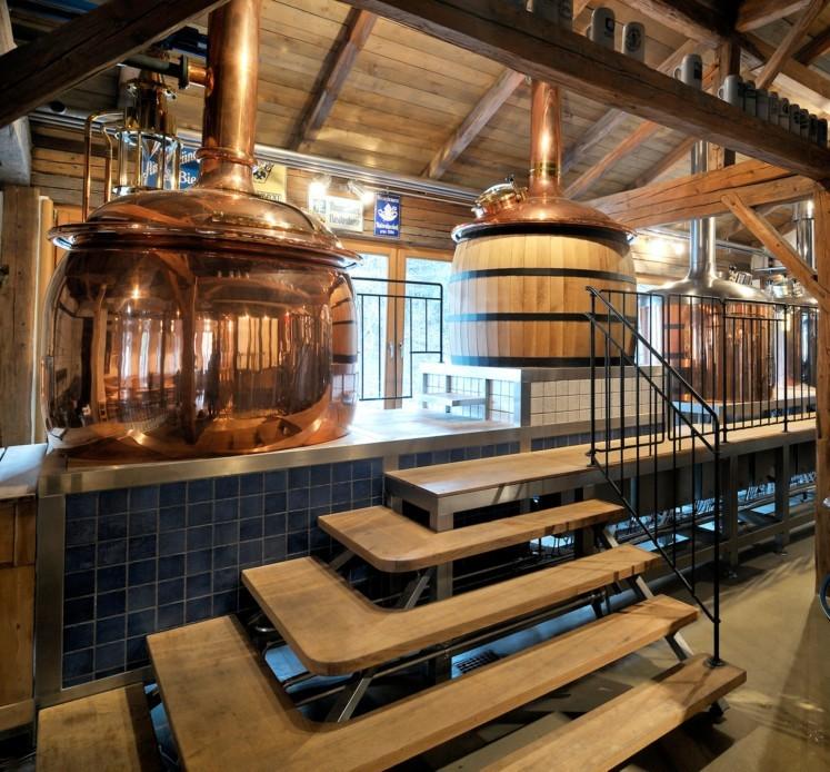 Bei Camba Bavaria im Chiemgau entstehen 40 Biere