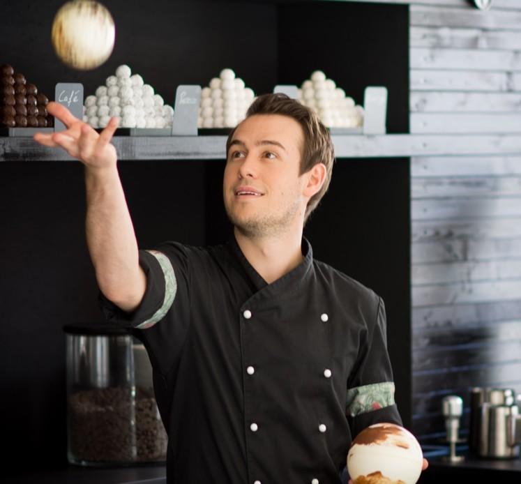 Chocolatier Kevin Kugel