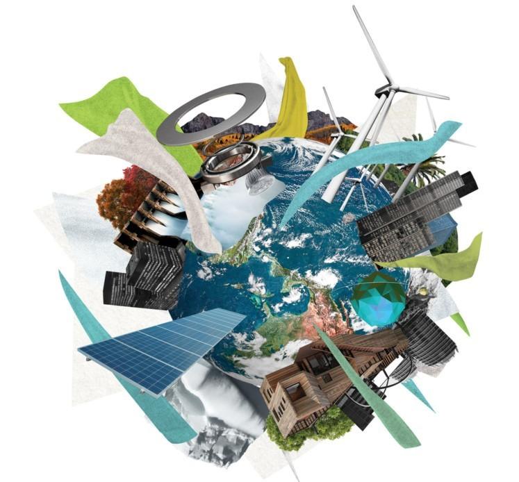 Nachhaltigkeit Illustration