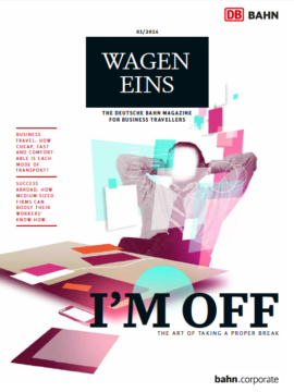 Wagen Eins, the Deutsche Bahn magazine for business travellers