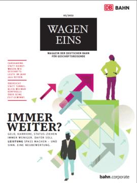 Wagen Eins Magazin für Geschäftsreisende, Ausgabe 1/2015