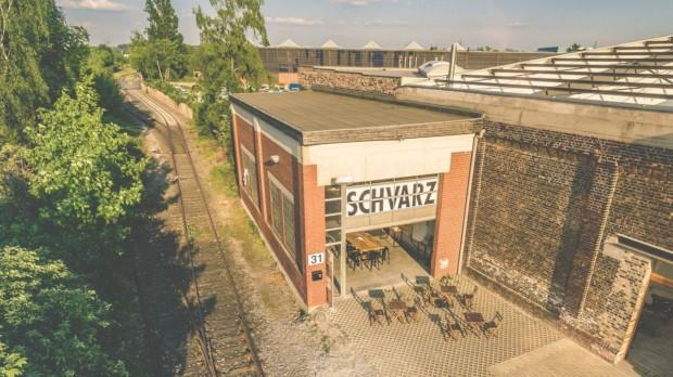 Das Café SchVarz in Düsseldorf