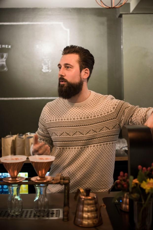 Inhaber der Nordcoast Coffee Roastery Jörn Gorzolla