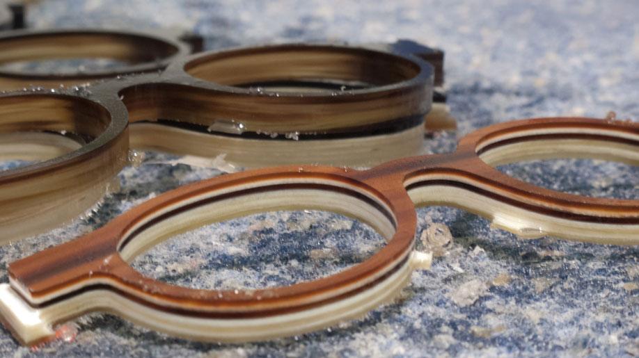 Brillenproduktion bei der Brillenmanufaktur Hoffmann