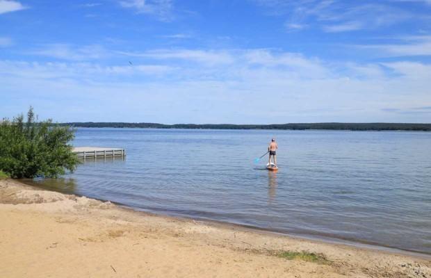 "Stand Up Paddling on ""Plau Lake"" (Plau am See), Mecklenburg-Vorpommern"